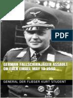 German Fallschirnjager Assault - General Der Flieger Kurt Studen