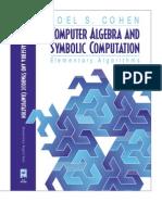 Computer Algebra and Symbolic Computation Elementary Algorithms