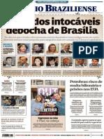 Capa Jornal Intocáveis de Brasília