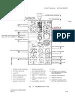 Manual de Vuelo Typical Instrument Panel