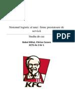 Proiect Logistica KFC