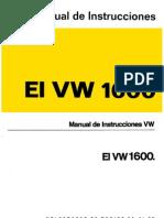 Manual del vw sedan 1600