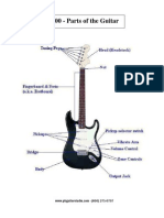 1.00 Parts of the Guitar