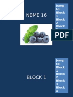 Nbme 16 Block 1-4 (No Answers)