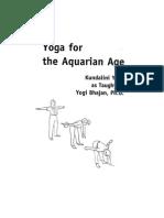 Yoga for the Aquarian Age