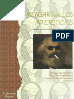 Pensar en Los Intersticios Teoria y Practica de La Critica Poscolonial