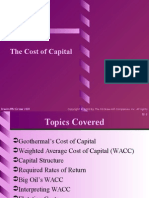 3. the Cost of Capital
