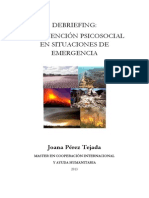 Intervencion Psicologica Emergencias