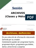 Sesión Archivos