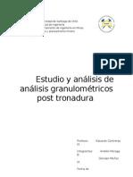Estudio y Análisis de Análisis Granulométricos