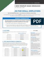 2015 City of Seattle Minimum Wage List