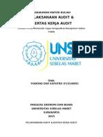 Rmk - Kertas Kerja & Pelaksanaan Audit [Remastered]