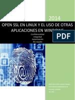 OPEN SSL EN LINUX Y EL USO DE OTRAS APLICACIONES EN WINDOWS