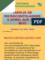 familia de micro controladores de atmega