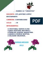 RUBRO 14
