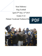 Putnam Unit Plan Flag Football Final Draft