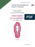 David Tanley Dimensiones de La Radionica