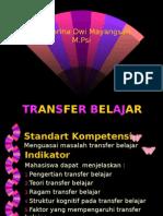 (3) Transfer Belajar