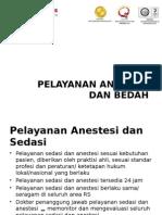 Pelayanan Anestesi Dan Bedah