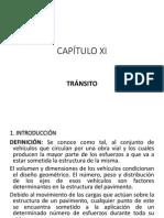 Capítulo Xi - Tránsito
