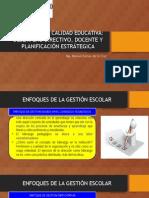 Gestión de La Calidad Educativa. Desempeño Directivo