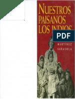 Martinez Sarasola Nuestros Paisanos los Indios.