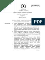 Undang-Undang No. 7 Tahun 2014 Perdagangan