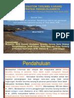 Versi Power Point_Kondisi Ekosistem Terumbu Karang Serta Strategi Pengelolaannya