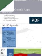 l campbell google apps mllc presentation