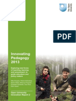 Innovating Pedagogy Report 2013