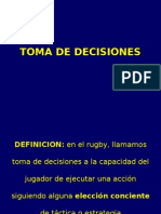Toma Decisiones Rugby