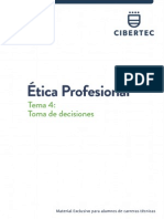 Ética Profesional - Toma de Decisiones