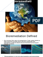 Microbial Bioremediation