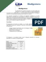 Biodigestores aplicacion