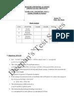 Inorganic Chem Test 1