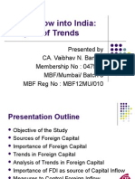 Capital Flow into India.ppt