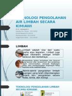 Teknologi Pengolahan Air Limbah Kimiawi