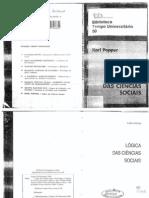 POPPER. A lógica das ciências sociais