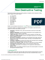Inspection/Non Destructive Testing