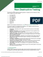 Inspection/Non Destructive Testing