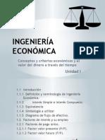 Ingeniería Económica Unidad 1