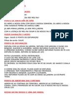 Pontos da Umbanda - Terreiro Beira Mar
