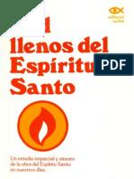 John Rw Stott Sed Llenos Del Espiritu Santo
