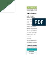 Ficha de Activacion