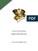 Estado Mesas Julio-Septiembre 2014