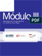 M+¦dulo III Aprendizaje de la Lengua Materna