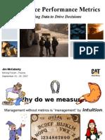 2007 Maintenance Metrics.pps