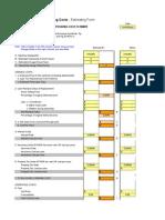 Copia de O&O Costs Estimating Form