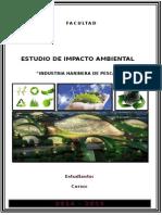 Trabajo de Impacto Ambiental-Harinera de Pescado
