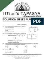 Jee Main Physics Solutions 2015